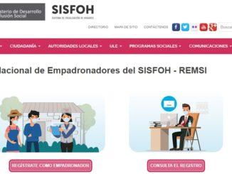 Sisfoh del Midis busca mejorar la focalización de hogares gracias a implementación de registro web