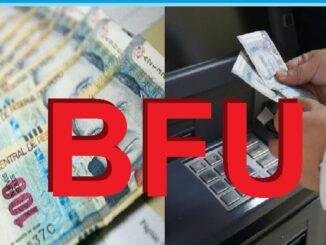 Cómo cobrar el BFU Segundo Bono Familiar Universal
