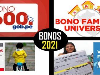 BONOS 2021 DEL ESTADO PERUANO