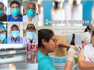 primeros en vacunarse