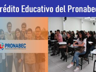 Crédito Educativo del Pronabec