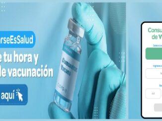 página web en la que sus asegurados podrán consultar centro de vacunación