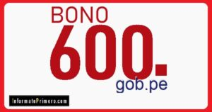 bono 600 soles logo