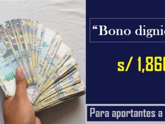 Bono dignidad