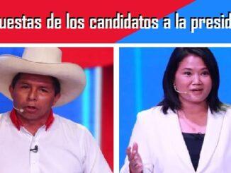 Propuestas de los candidatos a la presidencia del Perú