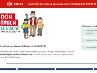 ¿Qué es la Asistencia Económica para Casos de Orfandad por la COVID-19?