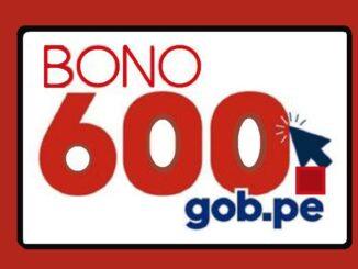 bono 600 soles logo oficial