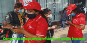 Cronograma de pago para el pago del Bono 600 soles para beneficiarios sin cuentas bancarias