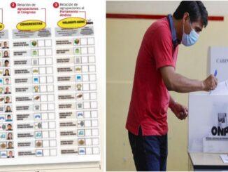 Conoce la cédula de sufragio y cómo votar correctamente