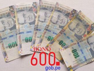 Entérate si tu hogar es beneficiario del bono S/ 600