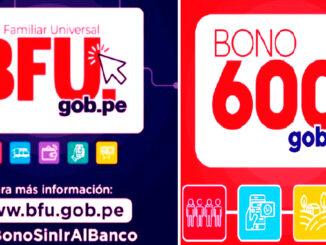 Consulta Bono Familiar Universal y 600 soles