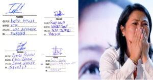 Personeros FP firmaron actas y conteo de votos sin hallar irregularidades