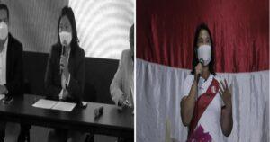 "La candidata Keiko Fujimori ha reiterado que hubo un ""fraude en mesa"" en la segunda vuelta"