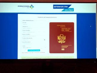tramitar su pasaporte electrónico