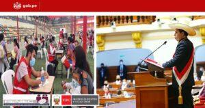 Castillo anuncia apoyo directo de S/ 700 para familias vulnerables