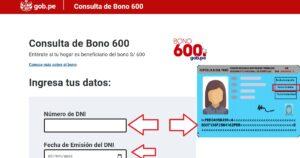 Consulta con tu DNI para ver si aún puedes acceder al Bono 600