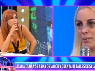 """Dalia Durán hace fuerte denuncia contra John Kelvin: """"Me forzó a tener intimidad"""""""