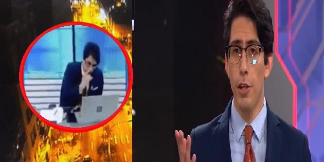 Hijo de Federico Salazar es criticado por 'sacarse los mocos' EN VIVO