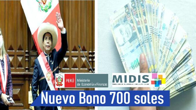 Nuevo Bono de 700 soles