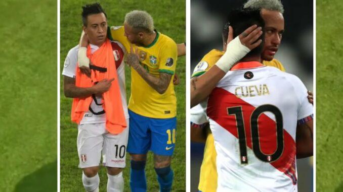 ¿Qué le dijo Christian Cueva a Neymar?