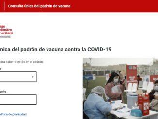 Vacunación COVID-19 para personas de 40 y 30 años