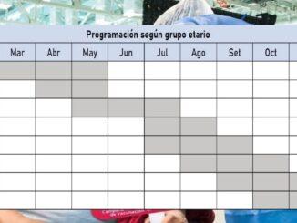 conoce aquí el cronograma de vacunación hasta fin de año