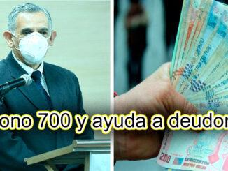 Bono 700 y ayuda a deudores