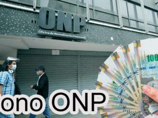 Bono ONP