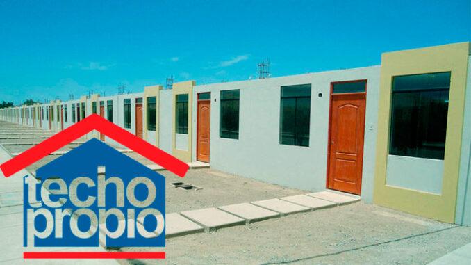Bono Techo Propio de 38 500 soles