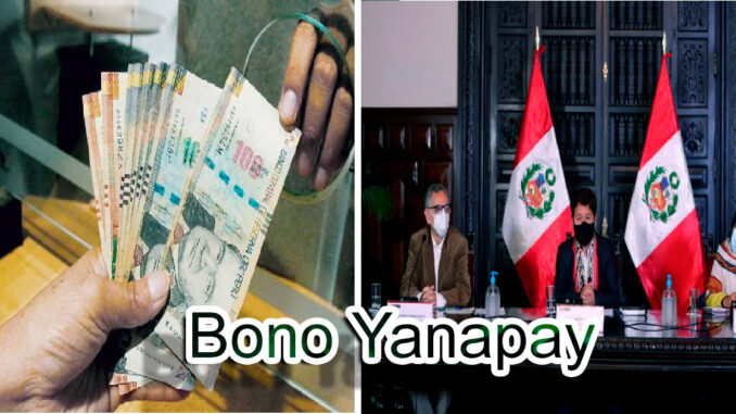 Bono Yanapay