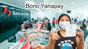Bono Yanapay Busca reducir la crisis económica