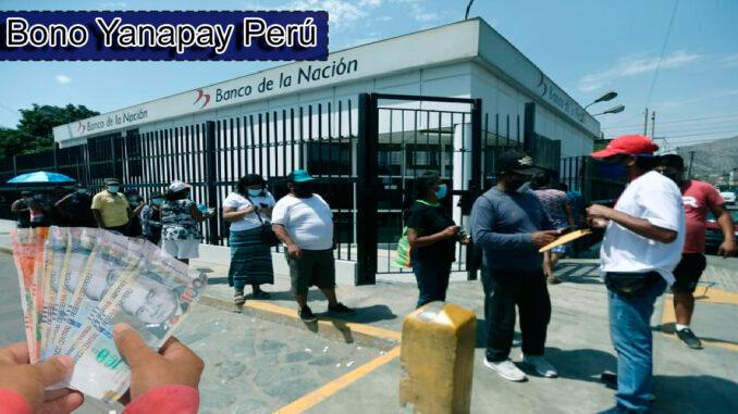 Bono Yanapay Perú: Consulta en el link con tu DNI