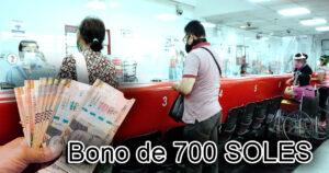 Bono de 700 SOLES