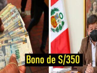 Bono de S/350