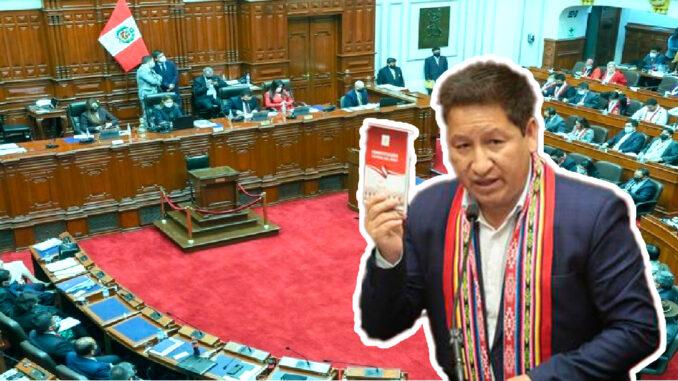 El voto de confianza al Gabinete de Guido Bellido