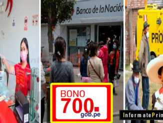 Posibles modalidades de pago del Bono 700 soles anunciado por el Presidente