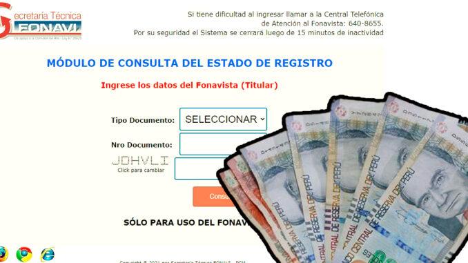 consulta FONAVI devolución total 2021