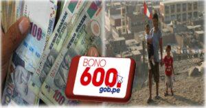 Bono 600 soles: Fecha límite para cobrar dicho subsidio
