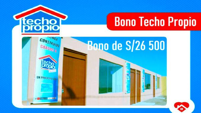 Bono Techo Propio