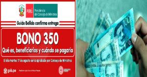 Bono Yanapay Cómo se distribuirá y que modalidades de Pago tiene