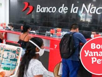 Bono Yanapay Fecha y detalles de la entrega de este subsidio