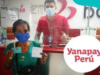 Bono Yanapay Perú