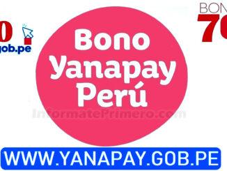 ¿Cómo saber si accedo al bono Yanapay?