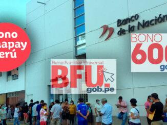 Quiénes pueden cobrar el Bono Yanapay BFU y Bono 600
