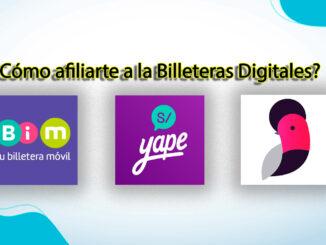 Cómo afiliarte a la Billeteras Digitales para cobrar el bono yanapay